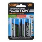 Аккумулятор ROBITON RTU5000MHD BL2 14223